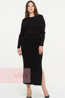 Юбка женская 5027 Фемина (Черный)