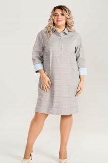 Платье 732 Luxury Plus (Серый)