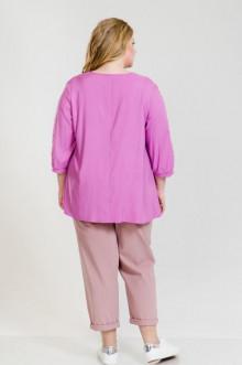 Блуза 909 Luxury Plus (Розовый)