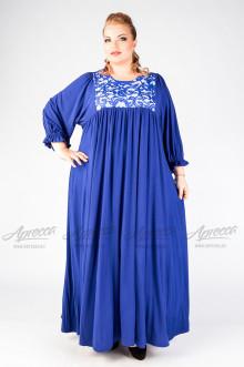 """Платье """"Артесса"""" PP20939BLU04 (Синий)"""